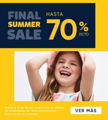 Final Sale hasta 70% dcto