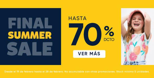 Final Sale hasta 70%